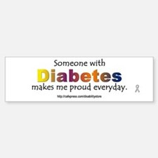 Diabetes Pride Bumper Bumper Bumper Sticker