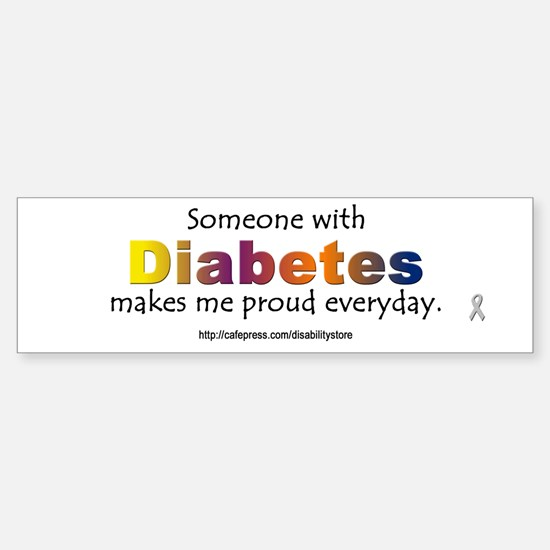 Diabetes Pride Bumper Bumper Stickers