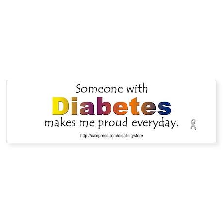 Diabetes Pride Bumper Sticker