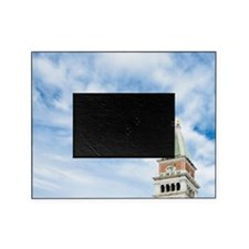 Italy - A bird is flying in the sky  Picture Frame