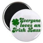 Everyone loves an Irish Lass Magnet