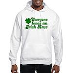 Everyone loves an Irish Lass Hooded Sweatshirt