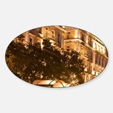 5 star Corinthia Crown Grand Hotel  Sticker (Oval)