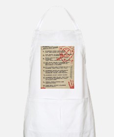 zombie-fact-sheet Apron