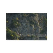 Cinque Terre. Challanging hiking  Rectangle Magnet