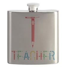 TEACHERpencils Flask