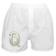 Letter Q Boxer Shorts