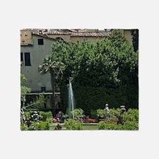 Palazzo Pfanner, Lucca, Tuscany, Ita Throw Blanket