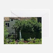 Palazzo Pfanner, Lucca, Tuscany, Ita Greeting Card