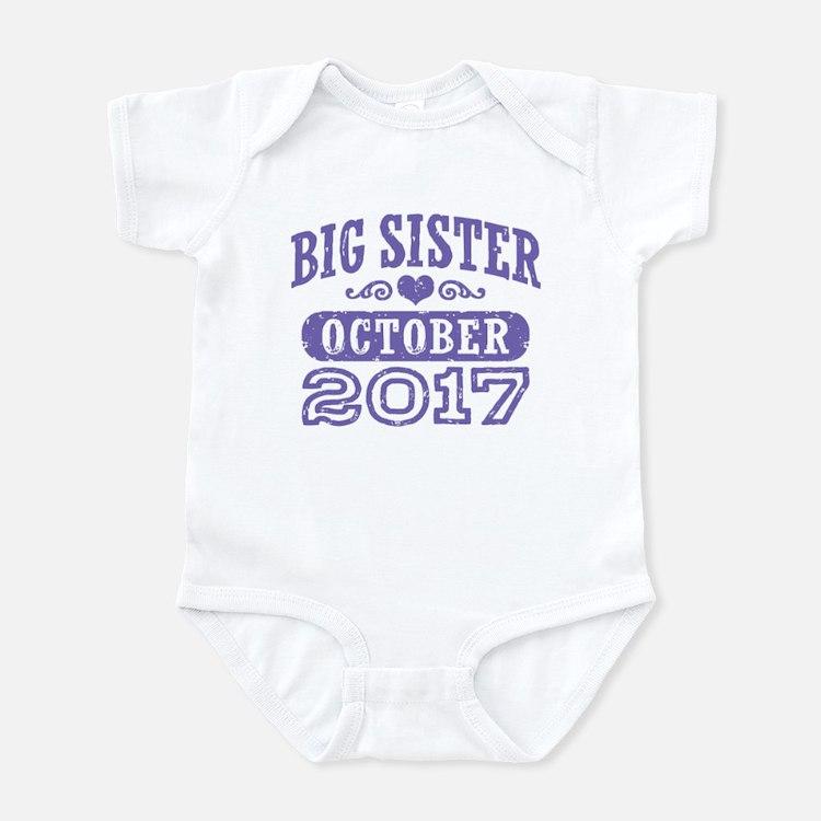 Big Sister October 2017 Infant Bodysuit