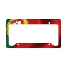 portugal_flag License Plate Holder