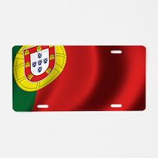 portugal_flag Aluminum License Plate