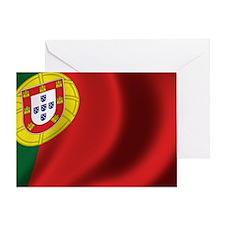 portugal_flag Greeting Card