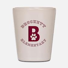 BROCKETT B Shot Glass