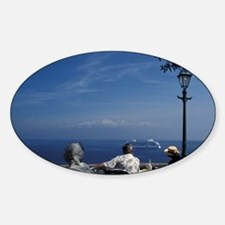 Sorrento. Hotel terrace above Sorre Decal