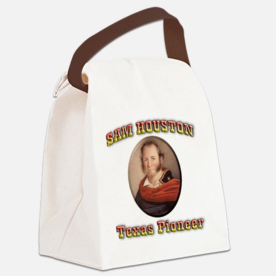 houston Canvas Lunch Bag