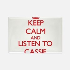 Keep Calm and listen to Cassie Magnets