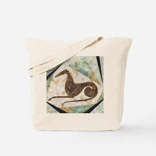 Tribal Square Tote Bag