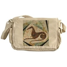 Tribal Square Messenger Bag
