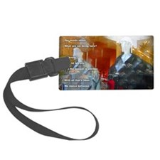 Dance Between.text2200pxname Luggage Tag