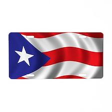 puerto_rico_flag Aluminum License Plate