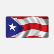 puerto_rico_flag Aluminum License Plate
