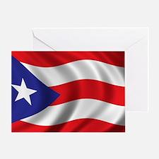 puerto_rico_flag Greeting Card