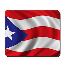 puerto_rico_flag Mousepad