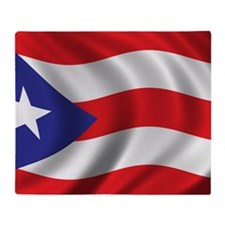 puerto_rico_flag Throw Blanket