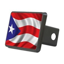puerto_rico_flag Hitch Cover