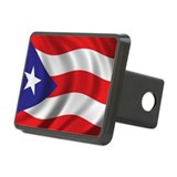 Puerto rican flags Hitch Covers