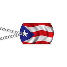puerto_rico_flag Dog Tags