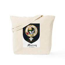 Murray of Athol Clan Crest Tartan Tote Bag
