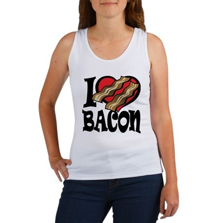 I Love Bacon 2 Women's Tank Top