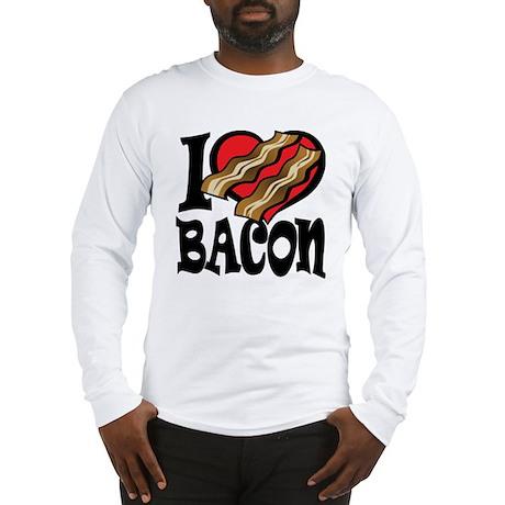 I Love Bacon 2 Long Sleeve T-Shirt