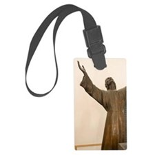 A replica of underwater statue i Luggage Tag