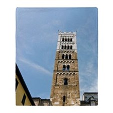 Church of San Martino, Lucca, Tuscan Throw Blanket