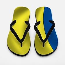 romania_flag Flip Flops