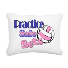 Practice Rectangular Canvas Pillow