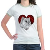 Cat valentine Jr. Ringer T-Shirt