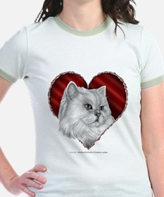Persian Cat Hear T-Shirt