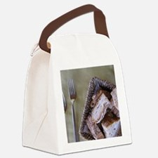 Italy, Tuscany, baked bread. Canvas Lunch Bag