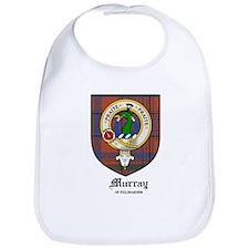 Murray Tullibardine Clan Crest Tartan Bib