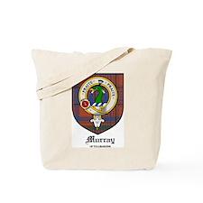 Murray Tullibardine Clan Crest Tartan Tote Bag