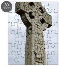 Drumcliffe. The High Cross dating from the  Puzzle