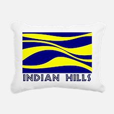 INDIAN HILLS Rectangular Canvas Pillow