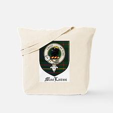 MacLaren Clan Crest Tartan Tote Bag