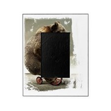 bear on tricycle10 Picture Frame