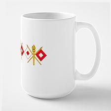 signal corps insigniaX3 Mug