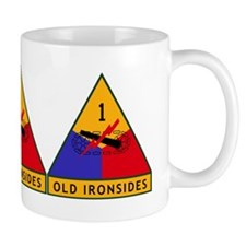 1st_US_Armored_Division_insigniaX3 Mug